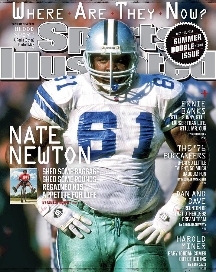 Nate Newton, Where Are They Now Sports Illustrated Cover Photograph by Sports Illustrated