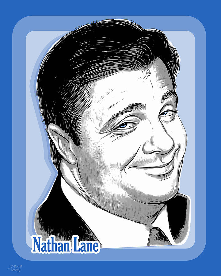 Nathan Lane 2 Digital Art