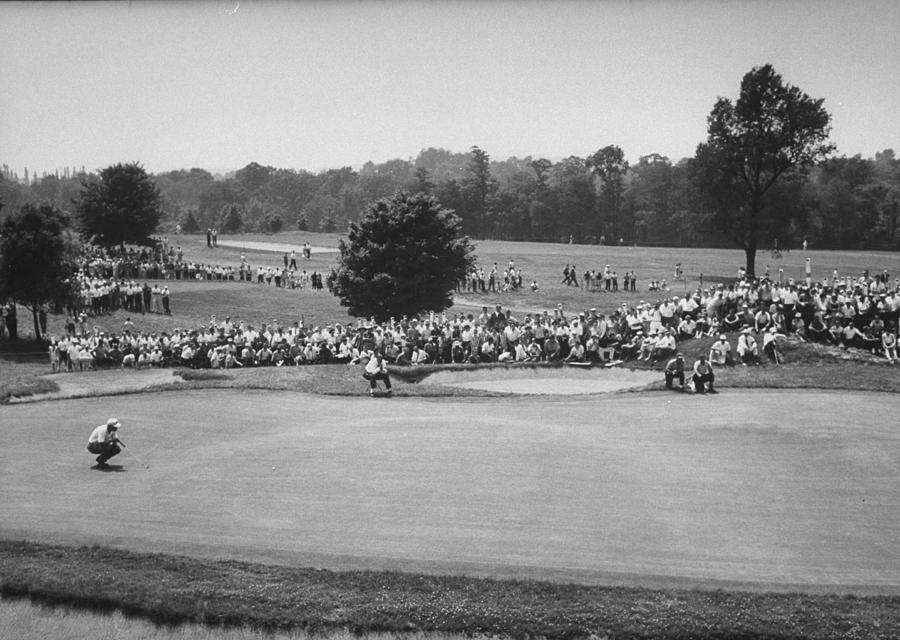 National Open Golf Championship Tourname Photograph by John Dominis