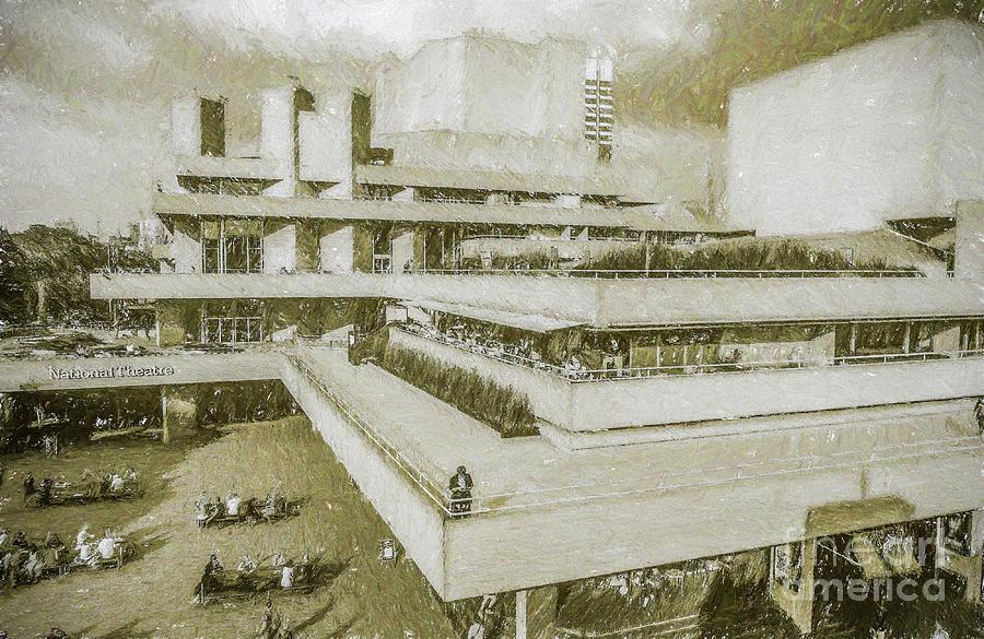 National Theatre, London by Liz Leyden