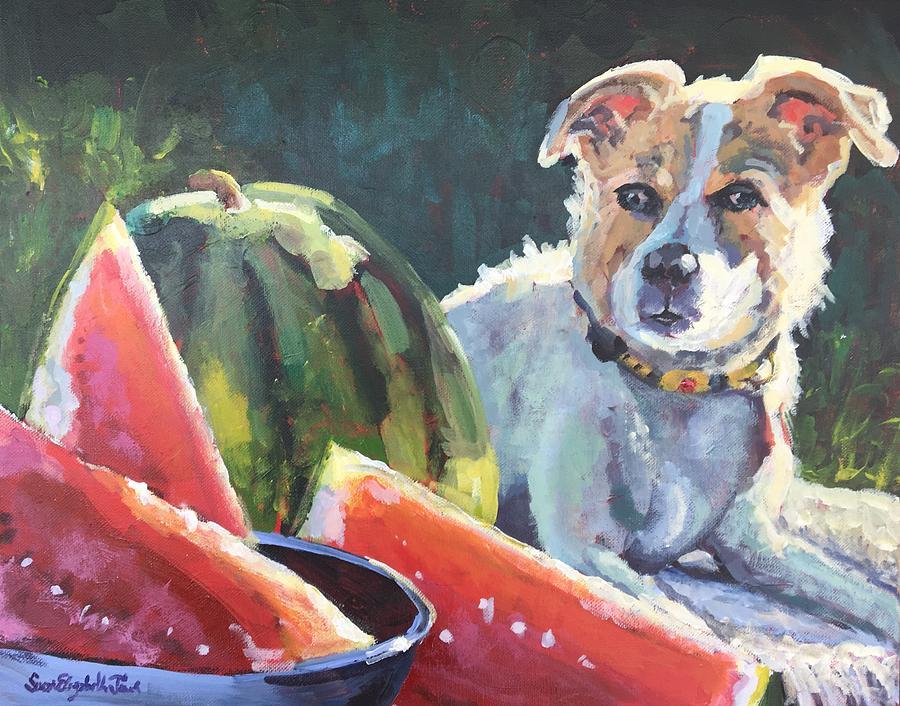 National Watermelon Day by Susan Elizabeth Jones