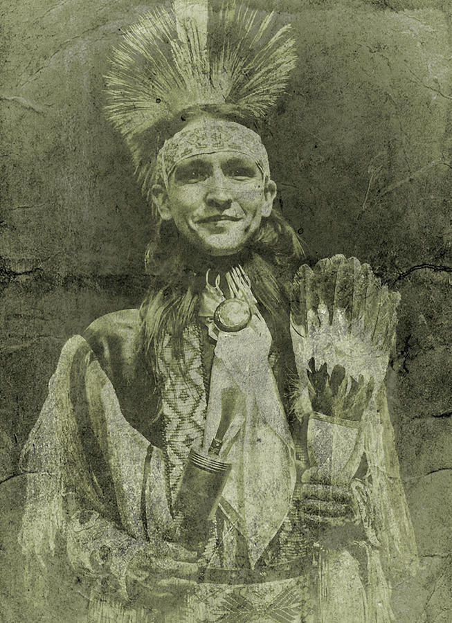 Native American Dancer Photograph