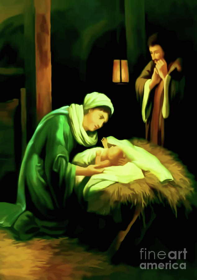 Nativity of Jesus by D Hackett