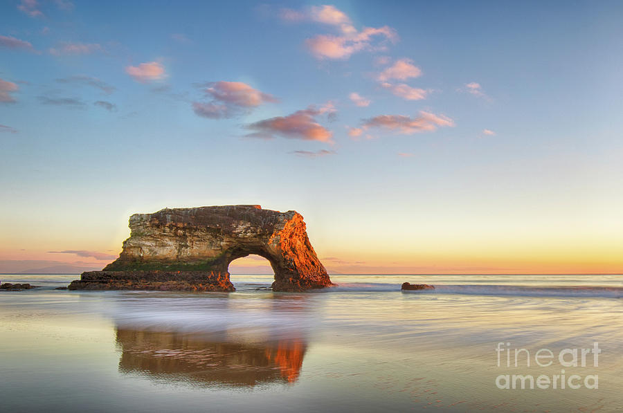 Natural Bridge at Sunset by Jennifer Ludlum