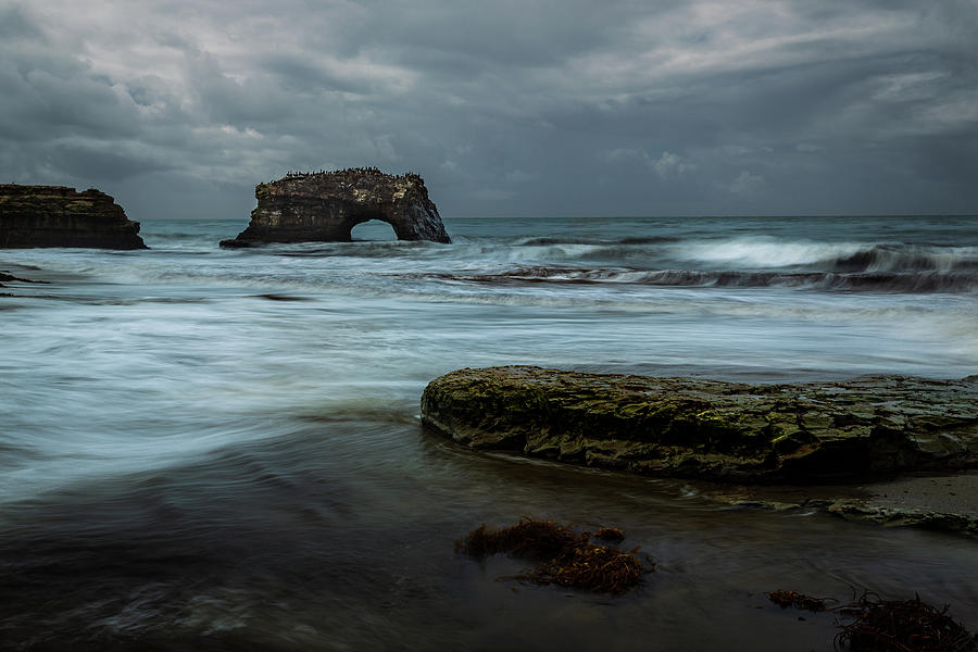 Natural Bridge in the Bay by Rick Strobaugh