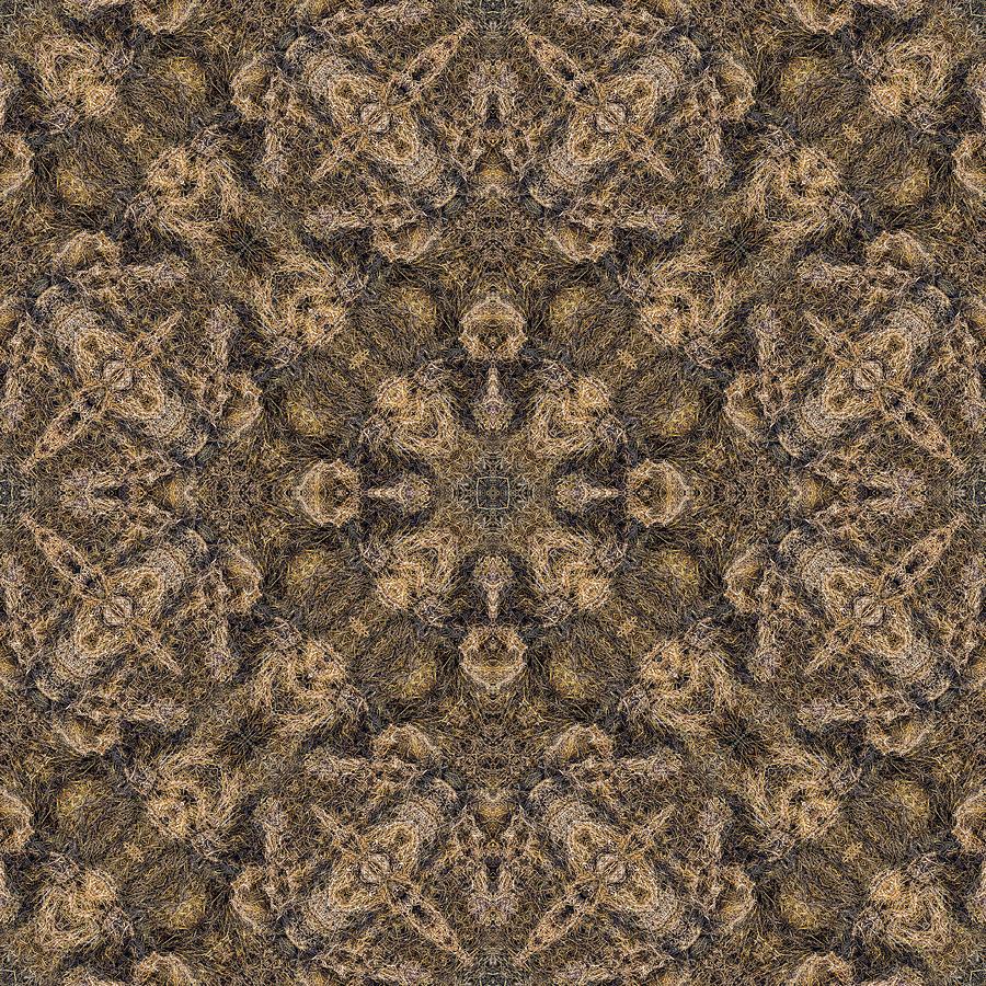 Natural Fiber Carpet Wallpaper Mixed Media By Jan Fidler