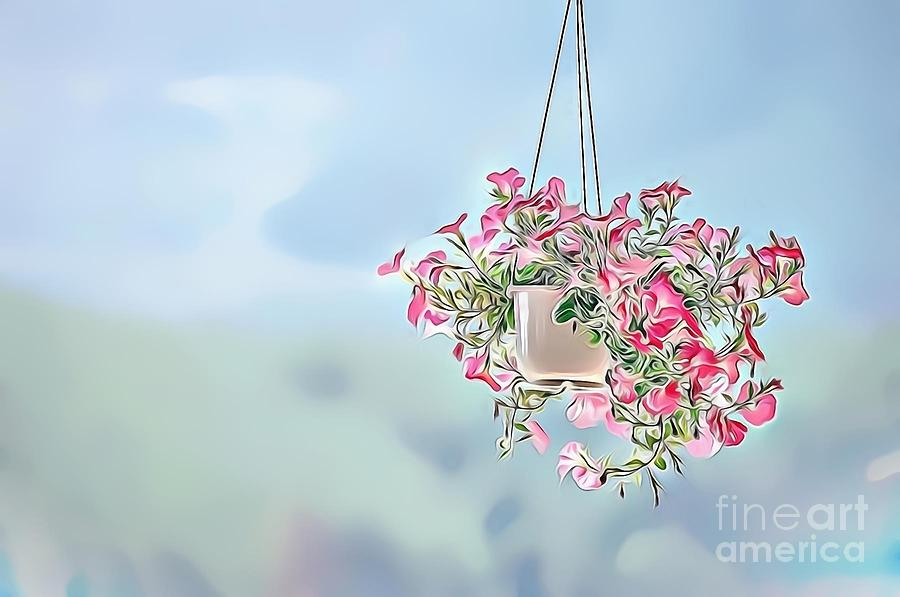 Female Digital Art - Naturalness And Flowers 43 by Leo Rodriguez