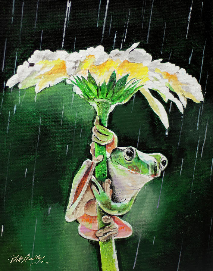 Natures Umbrella by Bill Dunkley