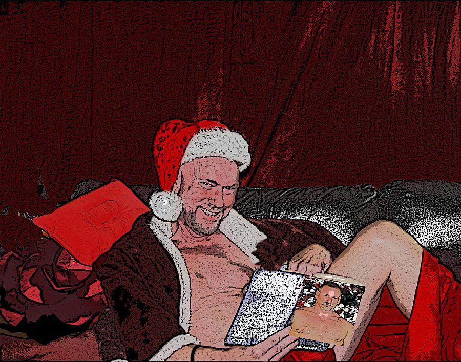 Naughty Santa #3 by John Carroll