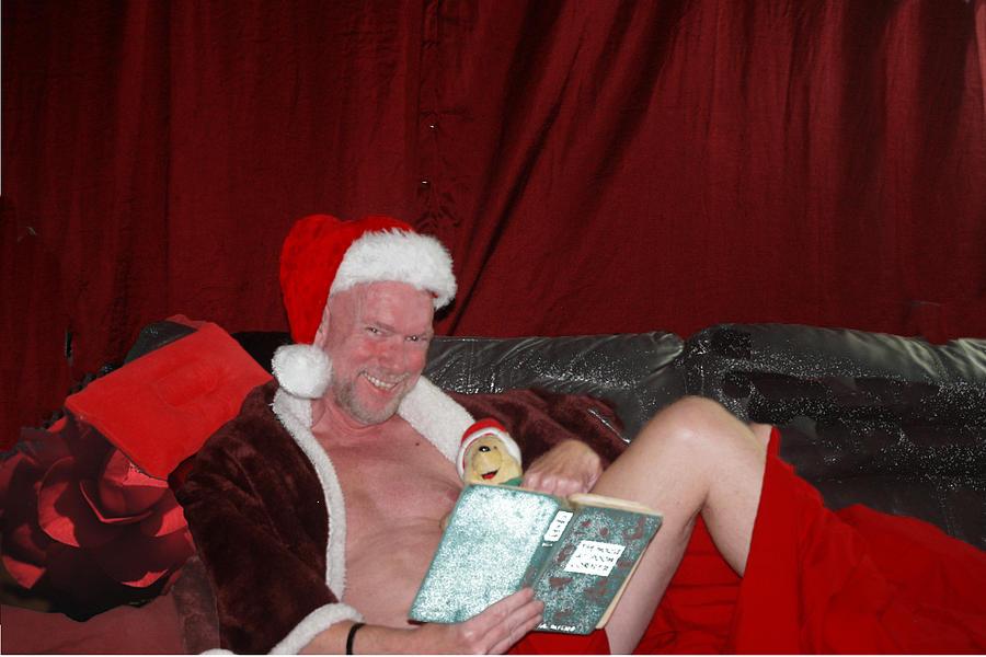 Naughty Santa by John Carroll