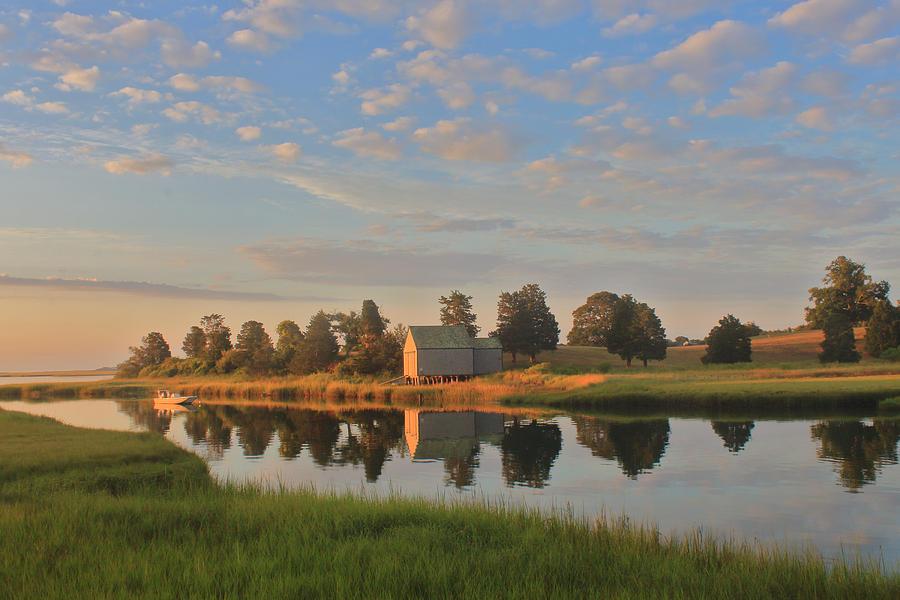 Nauset Marsh Morning Light by John Burk