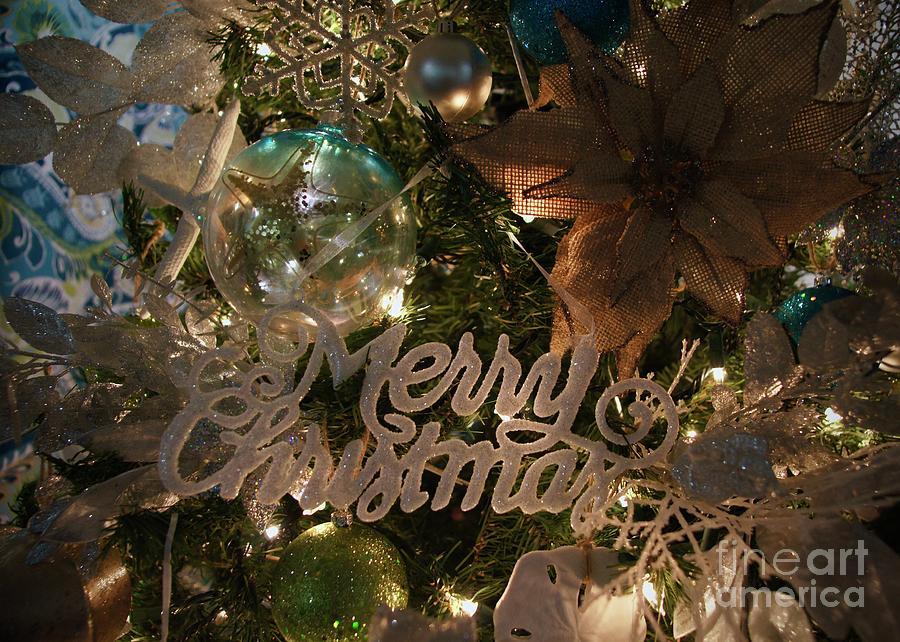Christmas Photograph - Nautical Christmas by Megan Cohen