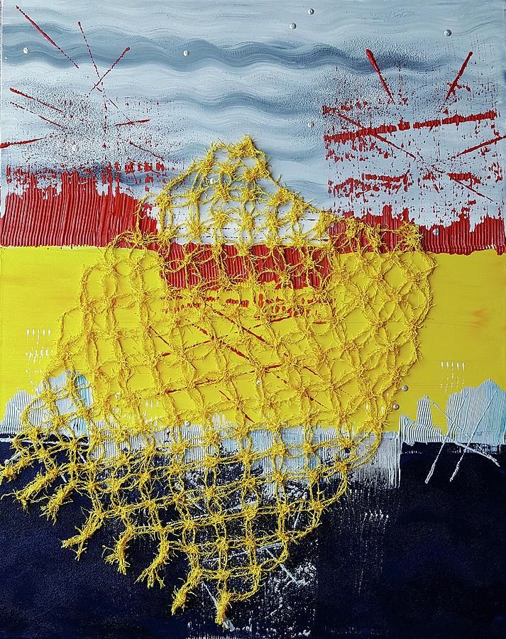 Nautical Netting by Diana Hrabosky