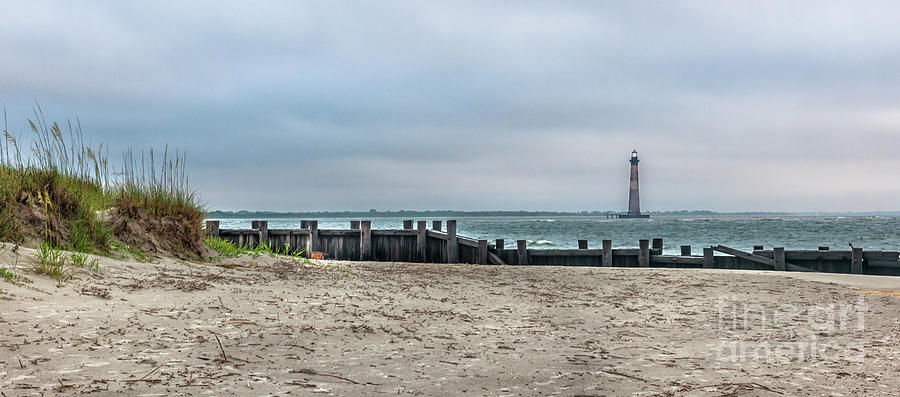 Nautical Shore - Morris Island Lighthouse Photograph
