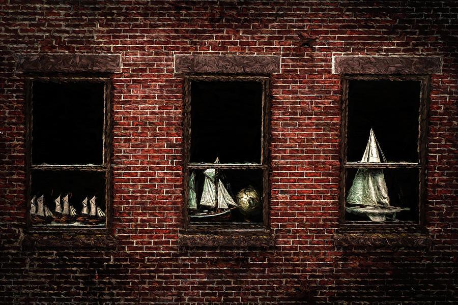 Nautical Windows by Barry Wills