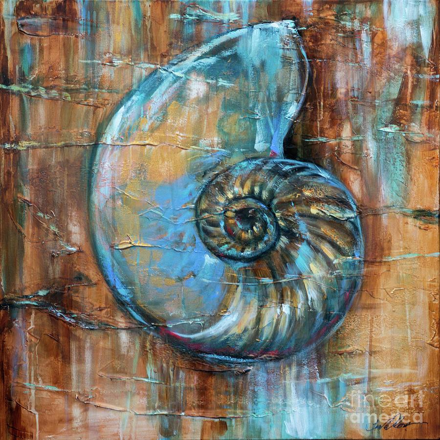 Nautilus Fossil by Linda Olsen