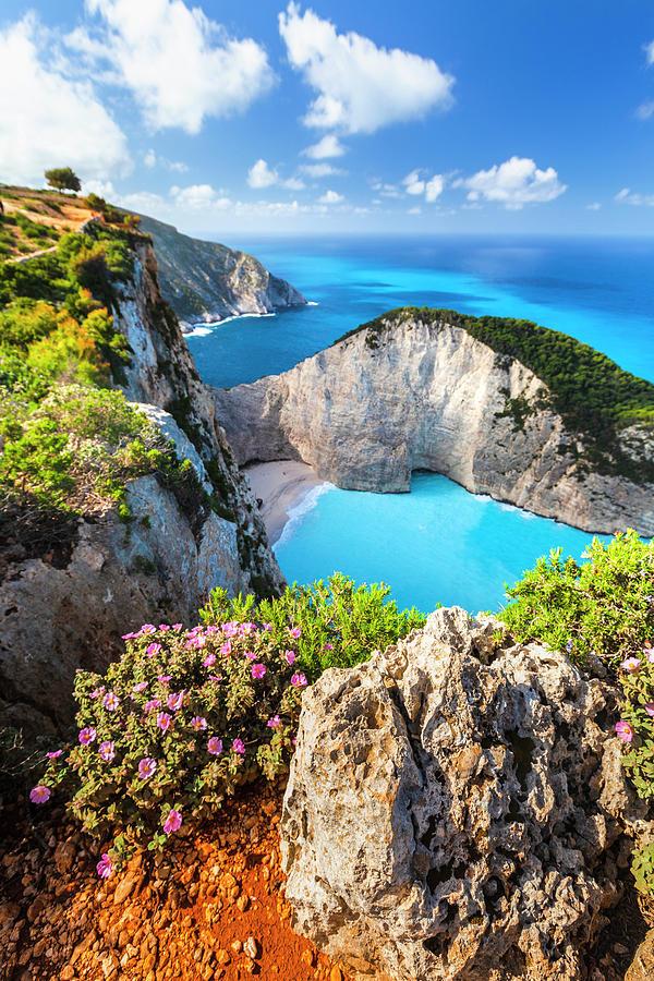 Greece Photograph - Navagio Bay by Evgeni Dinev