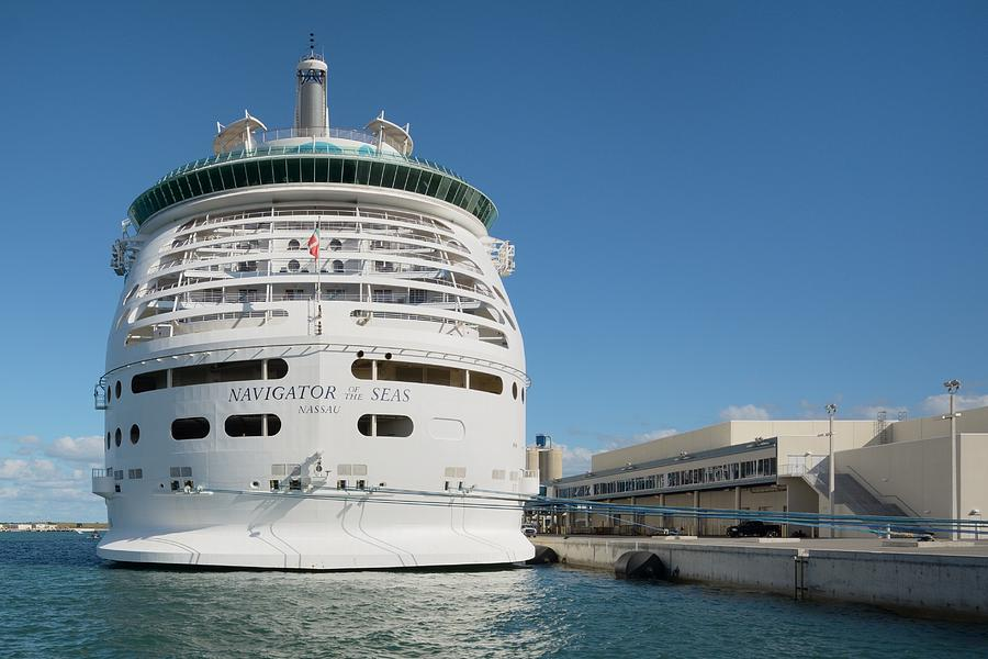 Navigator of the Seas at Dock by Bradford Martin