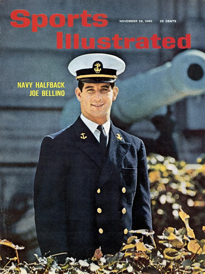 Navy Joe Bellino Sports Illustrated Cover Photograph by Sports Illustrated