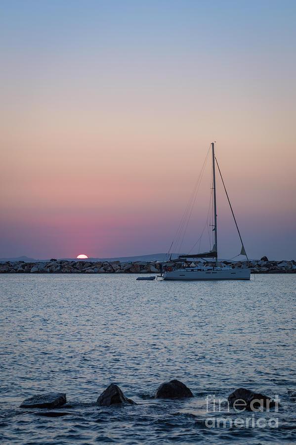 Landscape Photograph - Naxos Island by Alma Danison