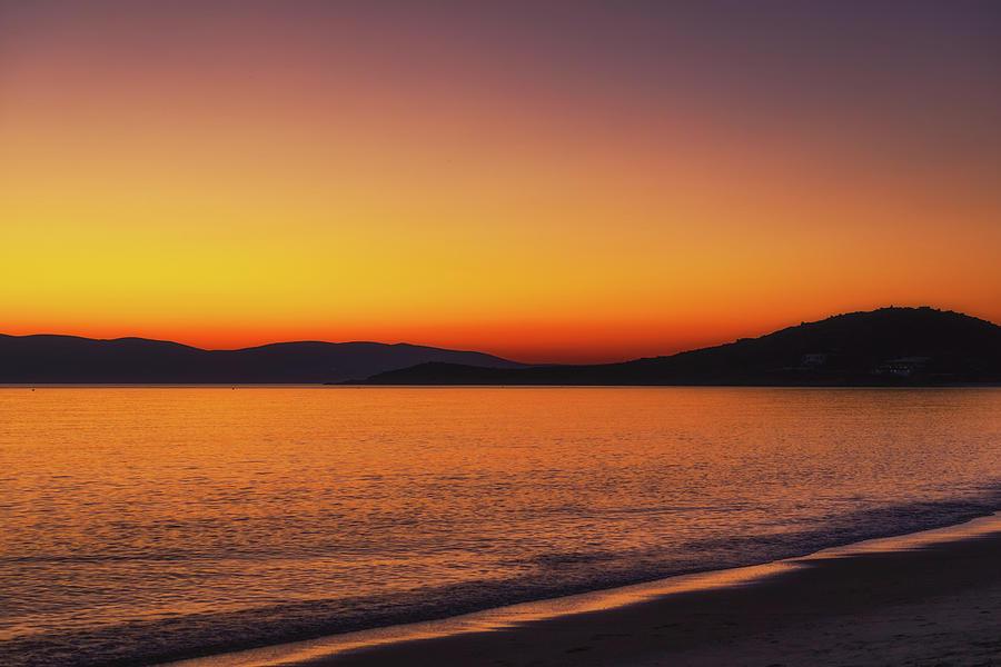 Naxos Sunset No 8 Photograph