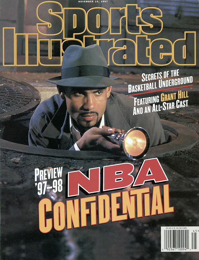 Nba Confidential, 1997-98 Nba Basketball Preview Issue Sports Illustrated Cover Photograph by Sports Illustrated