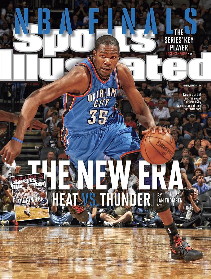 Nba Finals The New Era, Heat Vs. Thunder Sports Illustrated Cover Photograph by Sports Illustrated