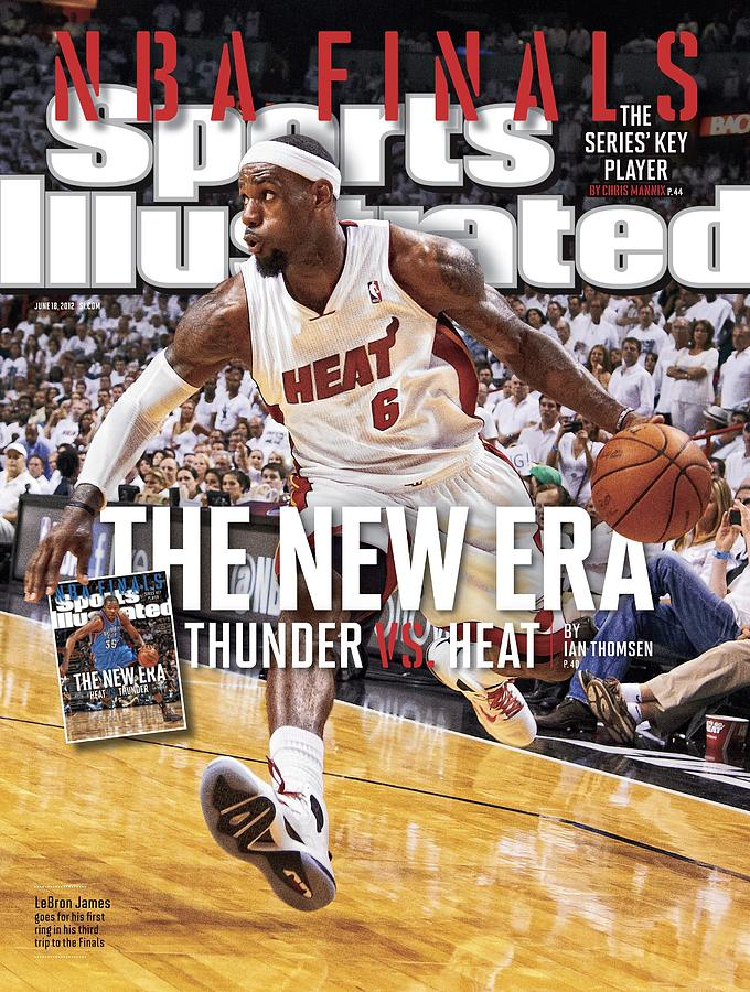 Nba Finals The New Era, Thunder Vs. Heat Sports Illustrated Cover Photograph by Sports Illustrated