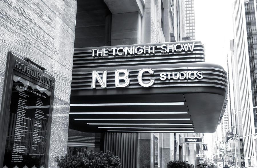 Nbc Studios At Rockefeller Center New York City Photograph By John Rizzuto