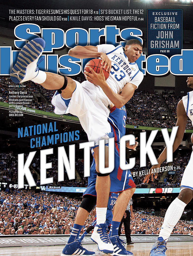 Ncaa Basketball Tournament - Final Four - Championship Sports Illustrated Cover Photograph by Sports Illustrated