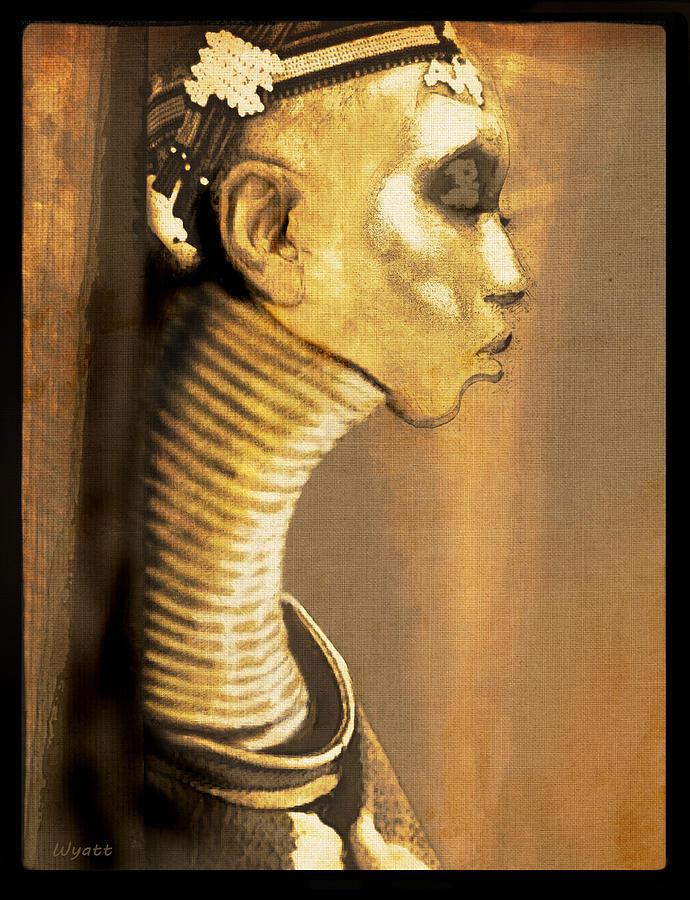 Ndebele Woman Digital Art - Ndebele Woman by Regina Wyatt