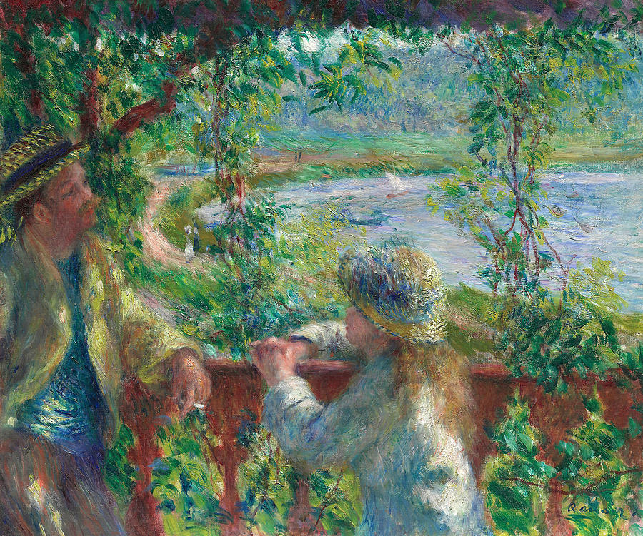 Near the Lake by Auguste Renoir