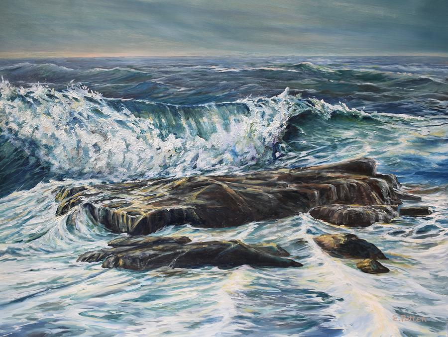 Near Thunder Hole, Acadia National Park by Eileen Patten Oliver
