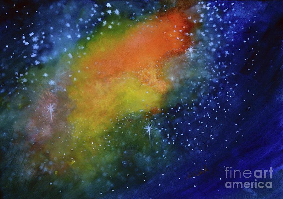 Nebula Creation Painting