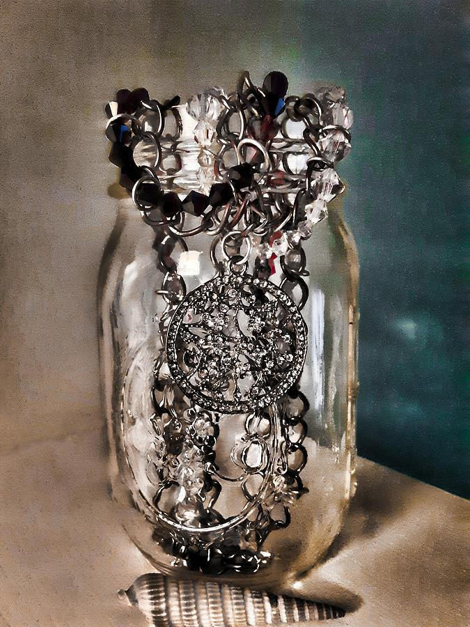 Necklace in a Jar by CG Abrams