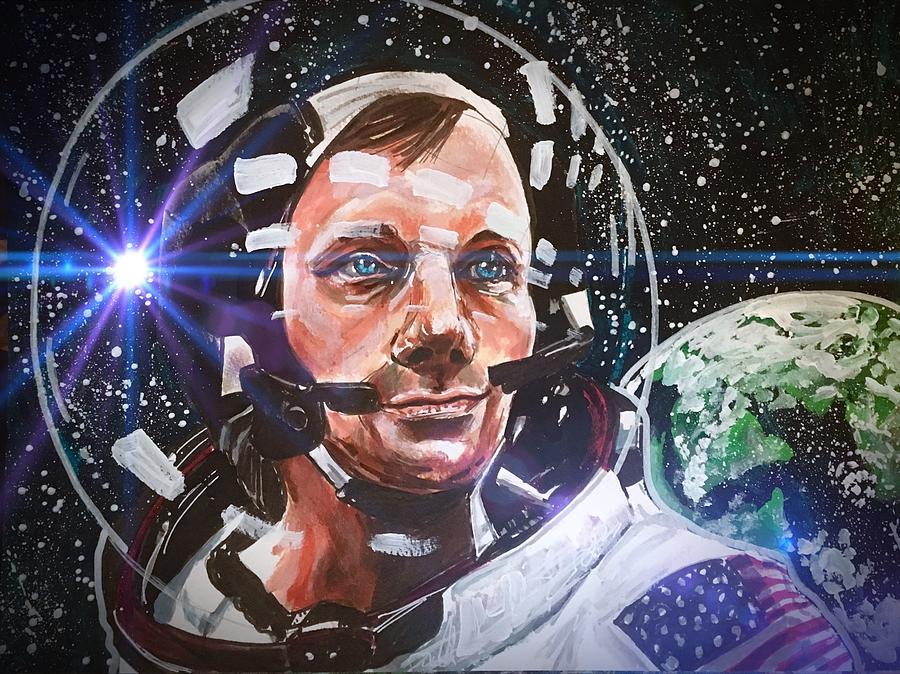 Neil Armstrong by Joel Tesch