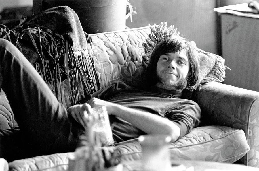Neil Young In Malibu Photograph by Michael Ochs Archives
