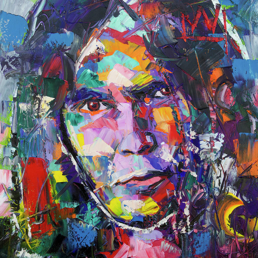 Neil Young Painting - Neil Young by Richard Day
