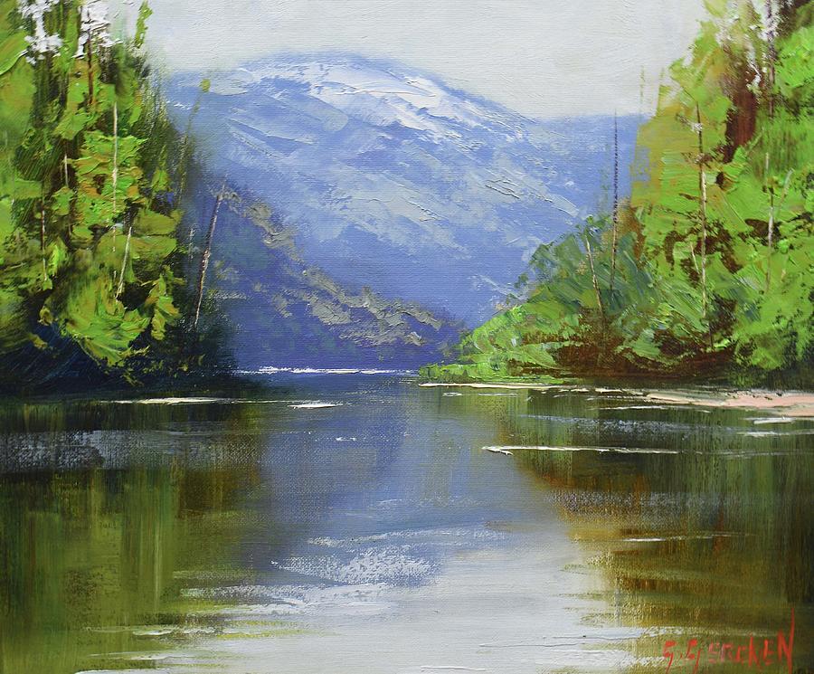 nekite River Canada Painting