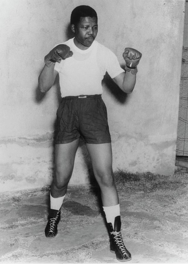 Nelson Mandela Photograph by Keystone