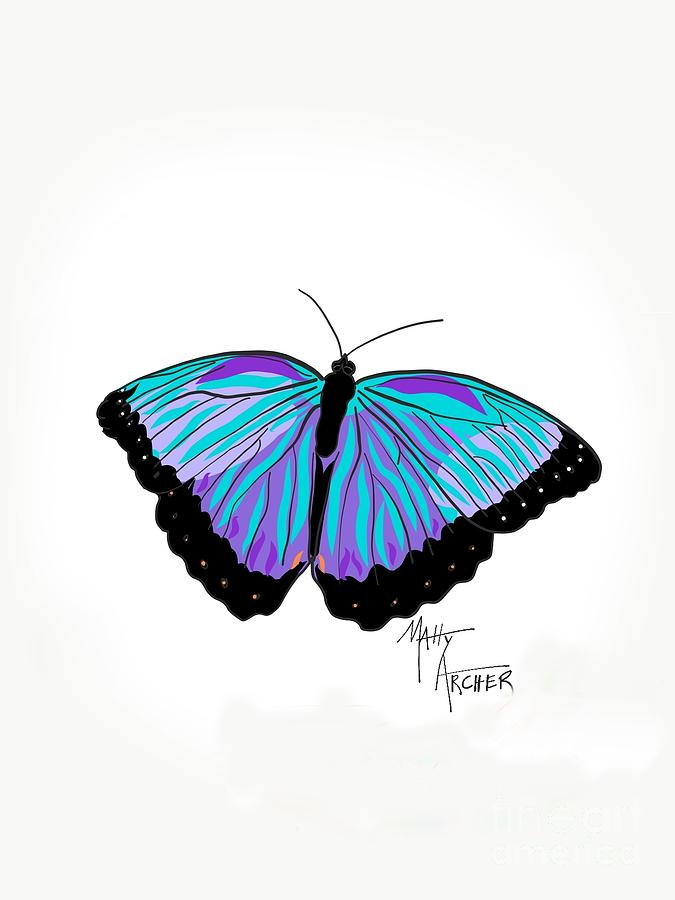 Neon Butterfly by Matty Archer