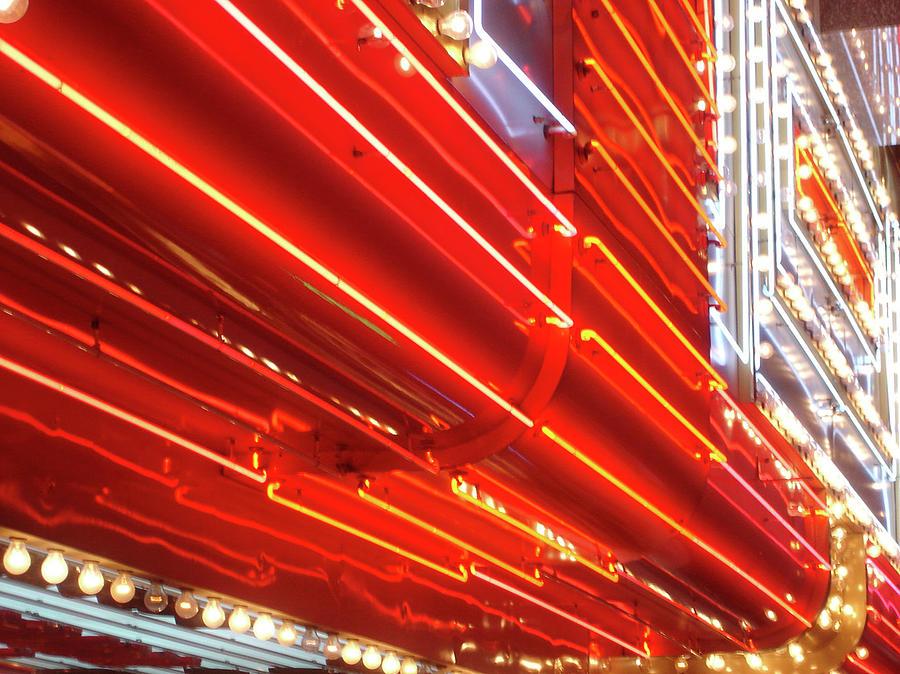 Neon Lights Downtown Las Vegas Photograph by Jill Tindall