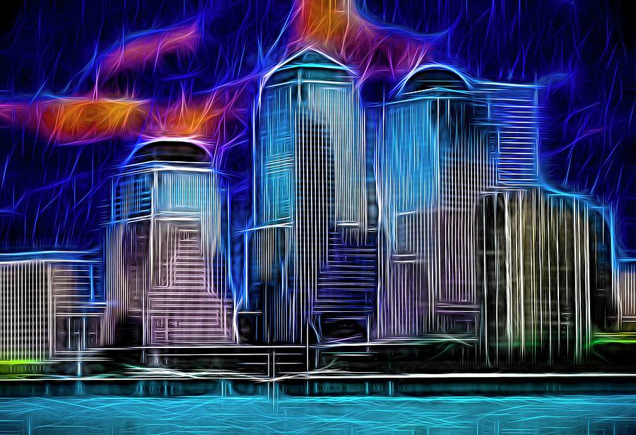 Neon New York by Paul Wear