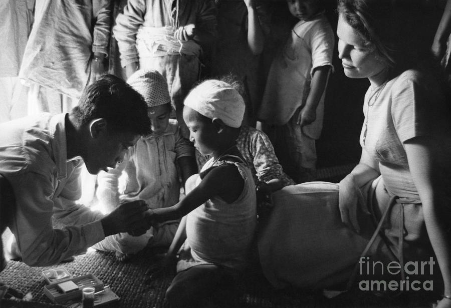 NEPAL INOCULATION, c1963 by Granger