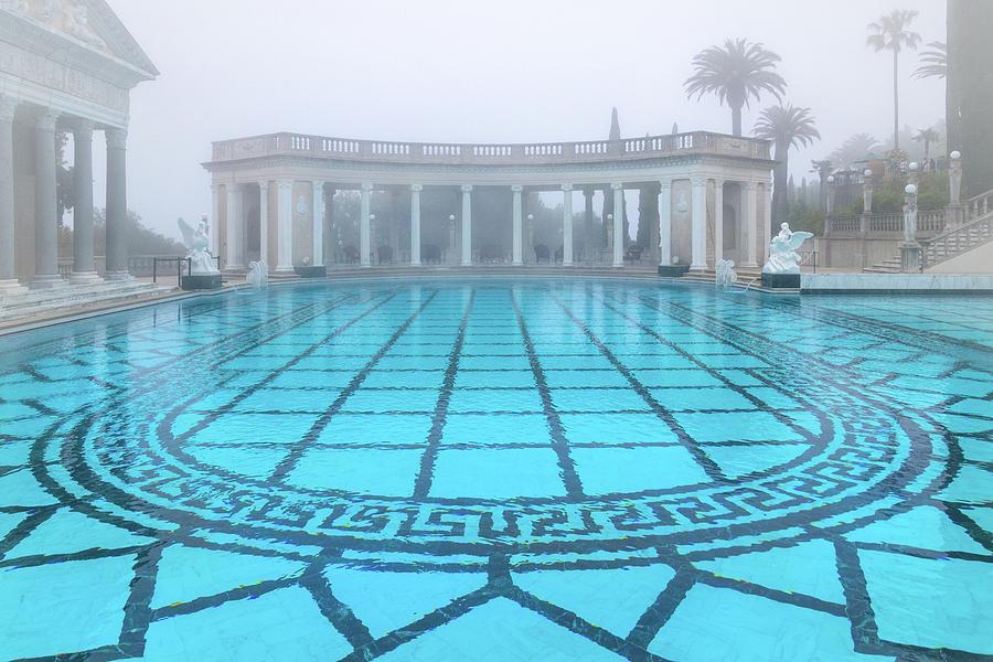 Neptune Pool at Hearst Castle by Carolyn Derstine
