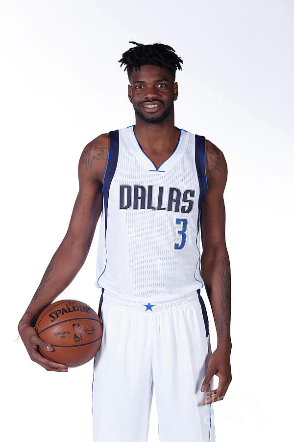 Nerlens Noel Dallas Mavericks Portraits Photograph by Glenn James