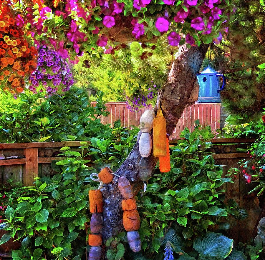 Neskowin Garden by Thom Zehrfeld