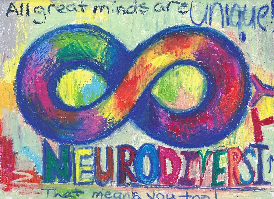 Neurodiversity, All Great Minds Are Unique by Danielle Rosaria