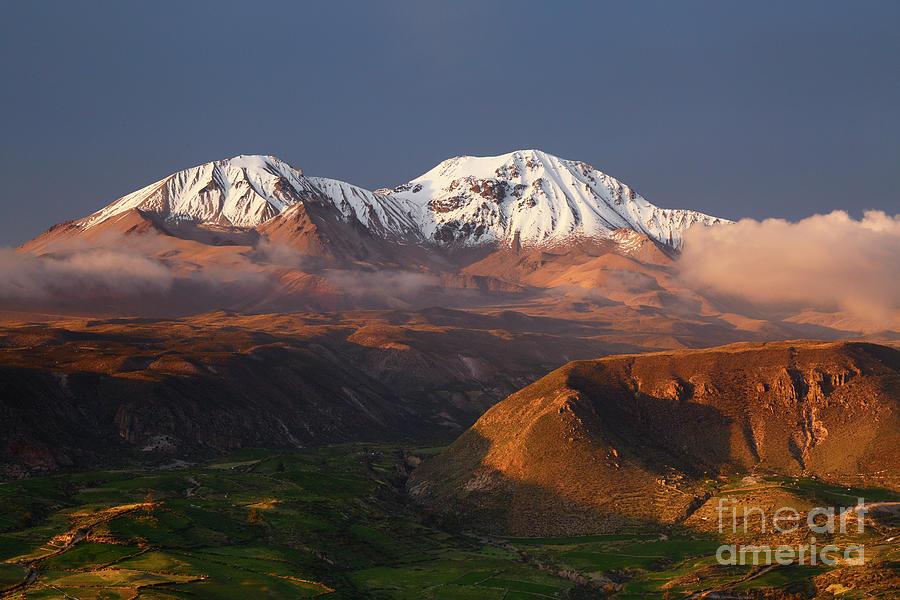 Nevados de Putre Volcanoes Chile by James Brunker