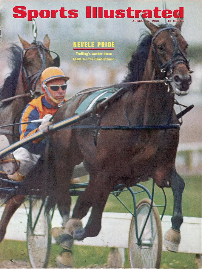 Nevel Pride, Harness Racing Sports Illustrated Cover Photograph by Sports Illustrated